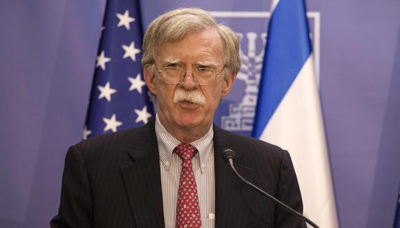 """El nuevo diálogo, señaló Bolton, debe lograr """"poner fin de forma verificable y completa al programa de armas nucleares iraní. (Foto: EFE)"""