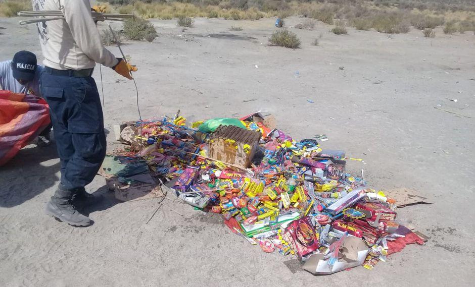 La policía anunció a la agencia Andina que continuará con las operaciones hasta el 31 de diciembre, fecha en que se acostumbra a comercializar estos productos (Foto: referencial)