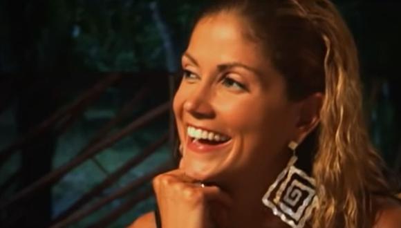 Lina Marulanda se quitó la vida en su casa. Ella tenía en sus manos la imagen de una virgen (Foto: Caracol Televisión)