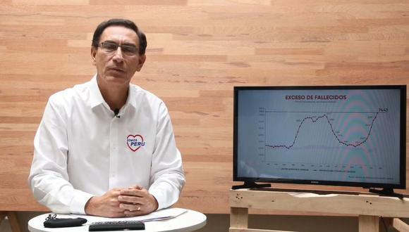 Martín Vizcarra asegura que no renunciará a su postulación al Congreso.
