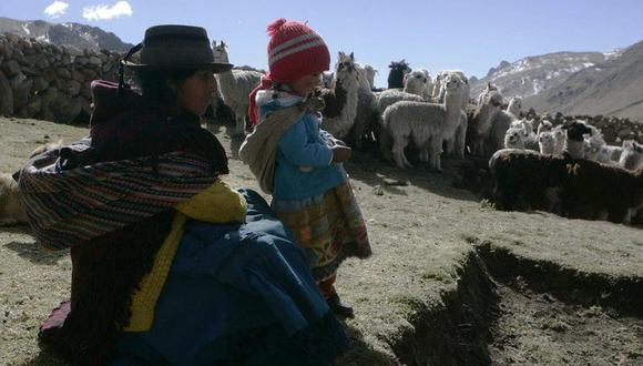 Con un territorio dominado por la agreste cordillera de los Andes, Perú tiene numerosas poblaciones a partir de los 2.000 metros de altitud y la localidad habitada más alta del mundo, La Rinconada, ubicada a 5.200 metros. (Foto: EFE)
