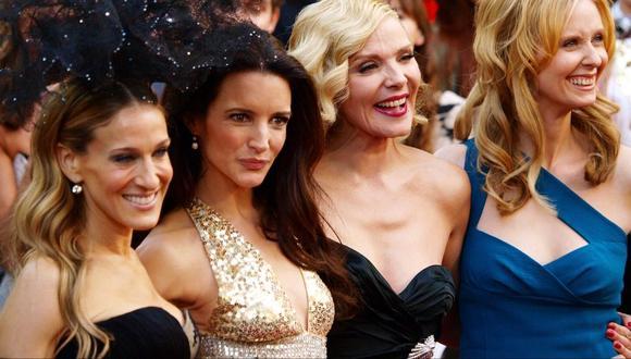 Las actrices se reunieron para agradecer a personal médico que atiende a pacientes con Coronavirus. (Foto: AFP)