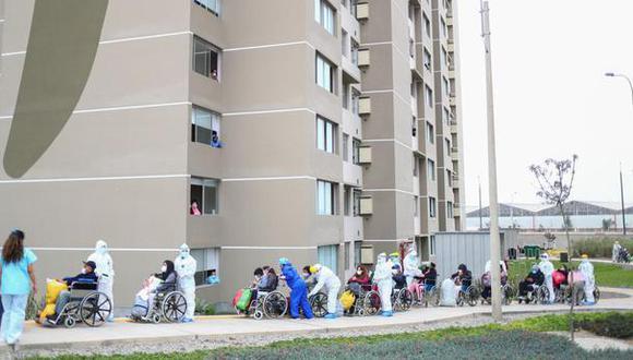 La cantidad de pacientes recuperados aumentó estelunes. (Foto: Hugo Curotto/GEC)