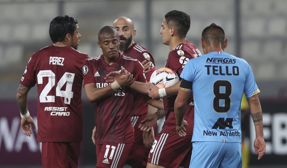Binacional vs. River Plate: Las imágenes del partido por la Copa Libertadores | Foto: AP