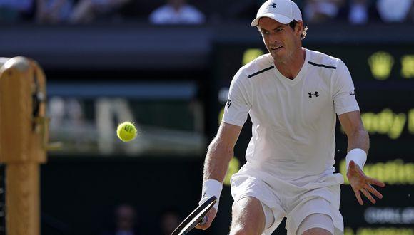 Andy Murray vs. Fabio Fognini: este viernes EN VIVO por tercera ronda de Wimbledon. (Foto: Agencias)