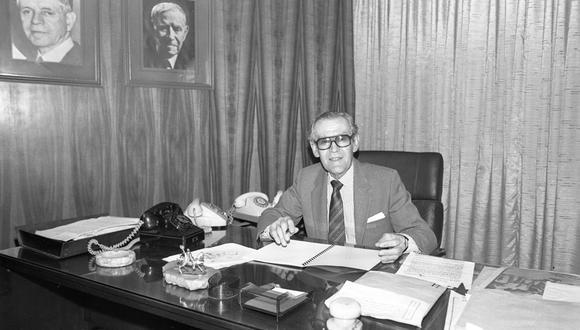 Francisco Miró Quesada Cantuarias fue director del suplemento El Dominical. (Foto: Archivo Histórico El Comercio)