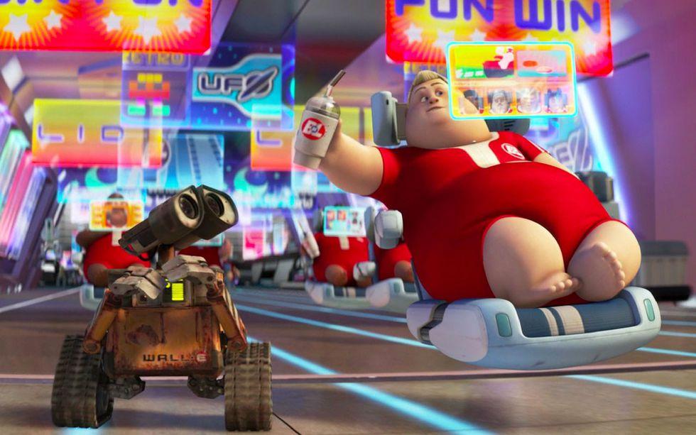 """El diseño de Alexander Zhukovsky hace recordar a los transportes que aparecen en la película """"Wall-E""""."""