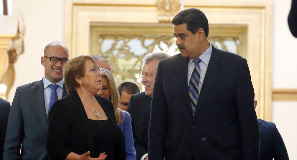 """Maduro envía dura carta a Bachelet pidiendo rectificar """"informe injurioso"""" ante la ONU. Foto: Archivo de AP"""