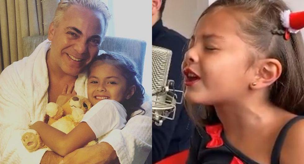 """""""Feliz cumpleaños papá hermoso, prepare esta canción junto con mi profesora para ti"""", escribió la pequeña Rafaela como leyenda de su video publicado en su cuenta de Instagram."""