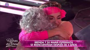 'Reinas del show 2′: Brenda Carvalho se reencuentra con su madre después de 3 años