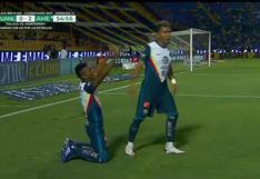 Pedro Aquinó anotó golazo en el Tigres vs. América' por la Liga MX | VIDEO