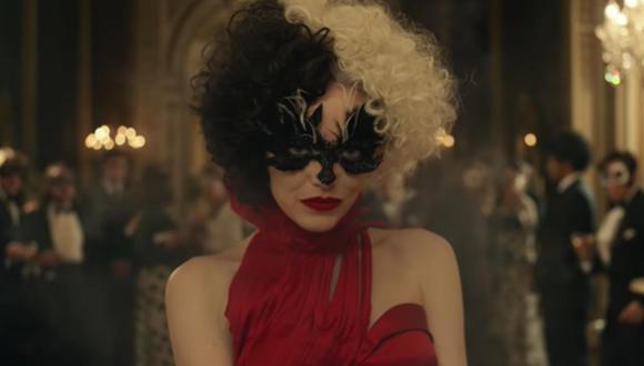 "Emma Stone luce como villana en el primer tráiler oficial de ""Cruella"". (Foto: Captura de video)"