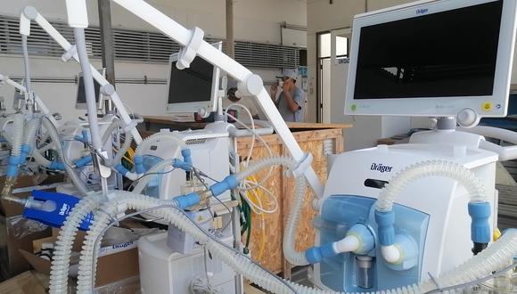 Los equipos permitirán fortalecer la capacidad de respuesta para los pacientes requieren soporte ventilatorio (Foto: EsSalud)