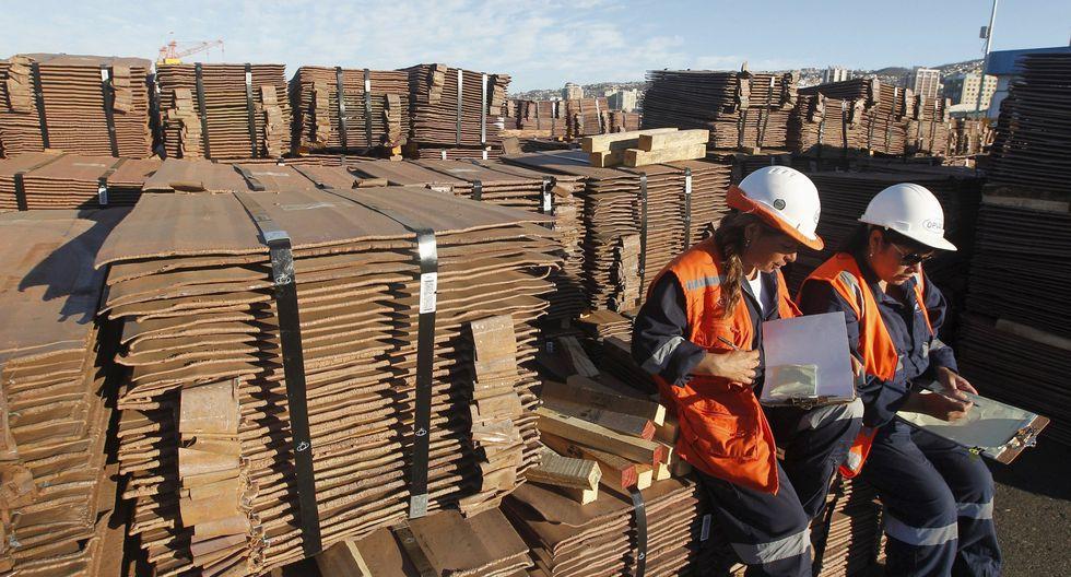 Asimismo, la SNMPE dijo que las exportaciones de cobre llegaron a los US$1.159 millones en octubre, monto 8,2% mayor al reportado en el mismo mes de 2018 (US$1.071 millones).