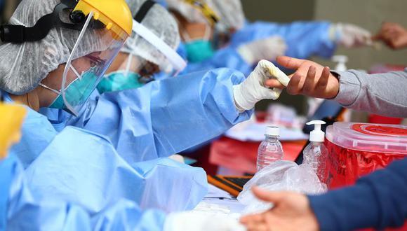 El último martes, el Ministerio de Salud (Minsa) reportó 5.772 casos nuevos, una cifra nunca antes registrada desde que empezó la pandemia. (Foto: Hugo Curotto/GEC)
