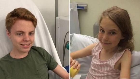 Noah y Ariel Bingham necesitan un trasplante de riñón. (FAMILIA BINGHAM).