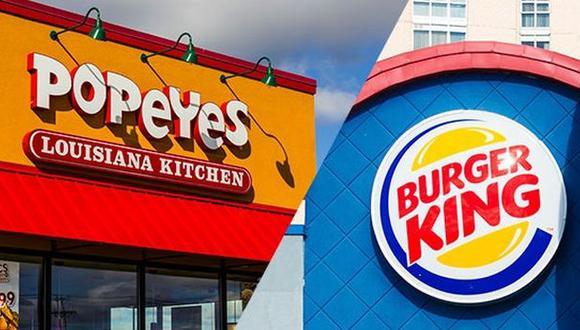 Burger King a punto de adquirir Popeyes en todo el mundo