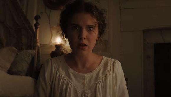 "Netflix estrenó ""Enola Holmes"", película que protagoniza Millie Bobby Brown. (Foto: Captura de video)"
