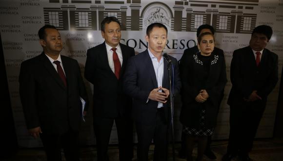 El congresista Kenji Fujimori cuestionó la nueva votación sobre la acusación constitucional en su contra a raíz de su vinculación en los videos grabados por Moisés Mamani. (Foto: Archivo El Comercio)