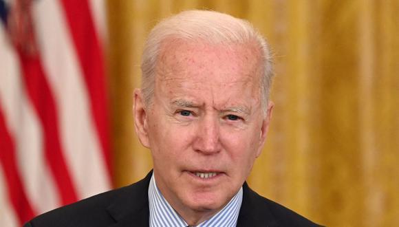 El presidente de Estados Unidos Joe Biden. (SAUL LOEB / AFP).