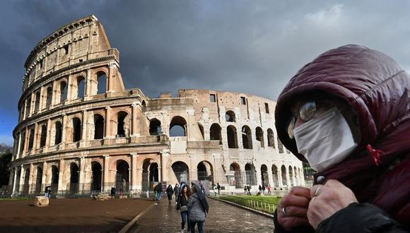 Italia se encuentra en cuarentena por el coronavirus. (Foto: AFP)