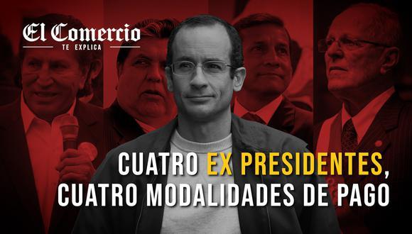 La empresa ha reconocido que entregó dinero a los últimos ex presidentes de la República. Sus modalidades de pago fueron diferentes en cada caso.