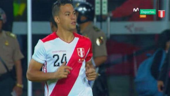 Cristian Benavente reemplazó a Raúl Ruidíaz y el Nacional lo recibió así   Foto: captura