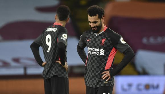 Salah no estaría cómo en el Liverpool y evalúa su salida. (AP Photo/Rui Vieira, Pool)