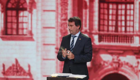 """En comunicación con El Comercio, Santos indicó que """"no tenía idea"""" de que López Aliaga fue regidor en la segunda administración de Castañeda Lossio en Lima.  (Foto: GEC)"""