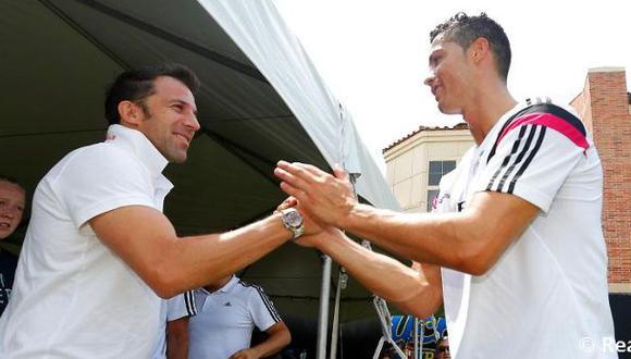 """Del Piero: """"Ancelotti es el mejor técnico de todos los tiempos"""""""