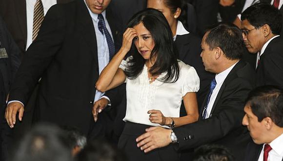 Nadine Heredia regresará a la Comisión Belaunde Lossio, pero esta vez en calidad de investigada. (Foto: EFE)