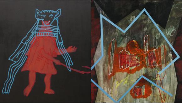 """Muestra retrospectiva """"Fuera de sitio - Antología (1979-2020)"""" va en el Espacio Germán Krüger Espantoso del ICPNA de Miraflores."""