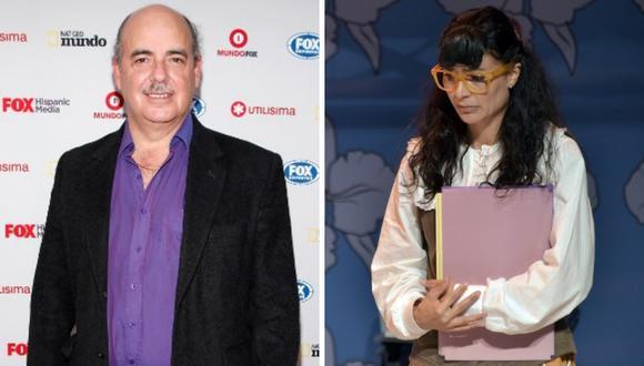 """Protagonista de """"Yo soy Betty, la fea"""" se despide del creador de la novela, Fernando Gaitán (Fotos: AFP)"""