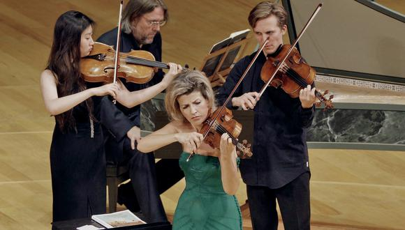 En su presentación en Lima, la violinista estará acompañada por los Mutter Virtuosi, grupo de solistas que ella misma eligió (Foto: Kauffman Center For The Performing Arts)