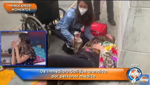 Raúl Araiza, Andrea Legarreta y Galilea Montijo no dudaron en bromear con el hecho. (Foto: captura video)