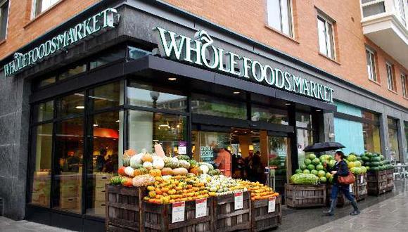 Local de Whole Foods en Estados Unidos.