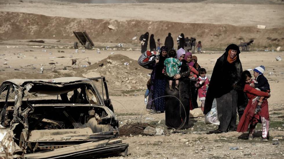 La batalla de Mosul también se libra en el desierto [FOTOS] - 10