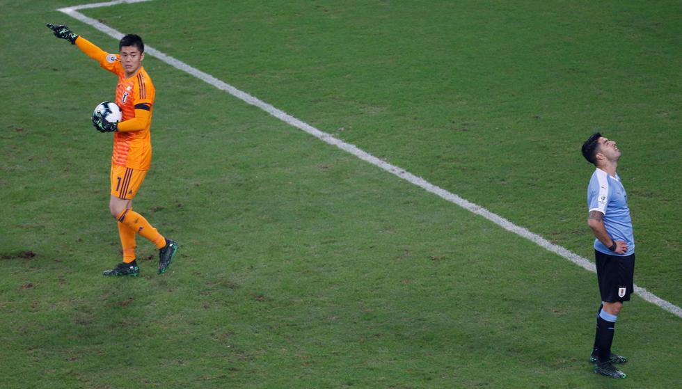 Uruguay vs. Japón: mejores imágenes del partido. (Foto: AFP)