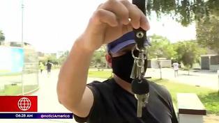 Los Olivos: hombre denuncia el robo de su auto en estacionamiento de supermercado