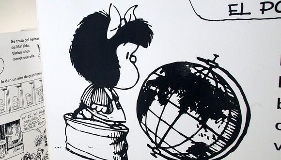En 1964, se publica por primera vez uno de los episodios de Mafalda, personaje creado por el argentino Quino. (Foto: EFE/Tonatiuh Figueroa)