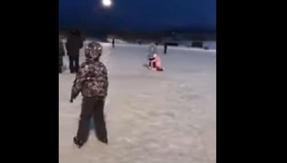 Explosión de meteorito ilumina el cielo de Siberia [VIDEOS]