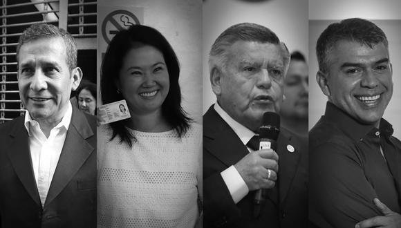 Cuatro candidatos tienen más de 50% de antivoto. (Foto: GEC)