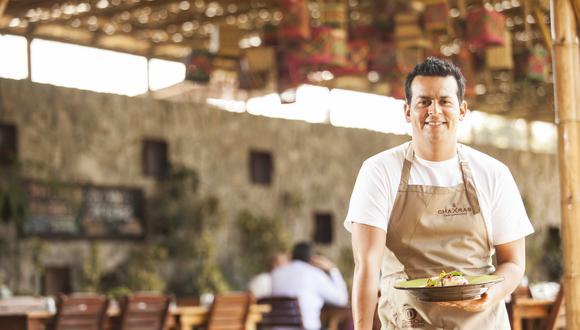 Eduardo Navarro en su restaurante Chaxras. (Foto: Difusión)