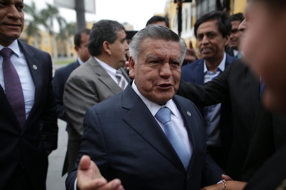 """Acuña consideró que su agrupación tiene """"la oportunidad de limpiar la imagen del Congreso"""". (Foto: Anthony Niño de Guzmán / GEC)"""