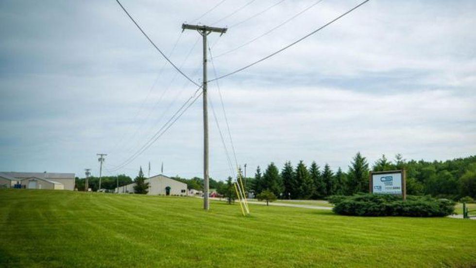 La empresa Combined Systems en Jamestown, Pensilvania.