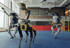 Los robots de Boston Dynamics despiden el 2020 a puro baile | VIDEO