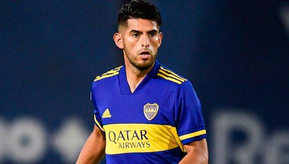 Carlos Zambrano fue titular y disputó todo el encuentro frente al 'Tatengue'. (Foto: Boca Juniors)