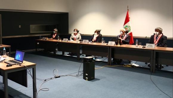 Junta Nacional de Justicia está en la fase final del concurso público para elegir a los nuevos jefes de la ONPE y el Reniec. (Foto: GEC)