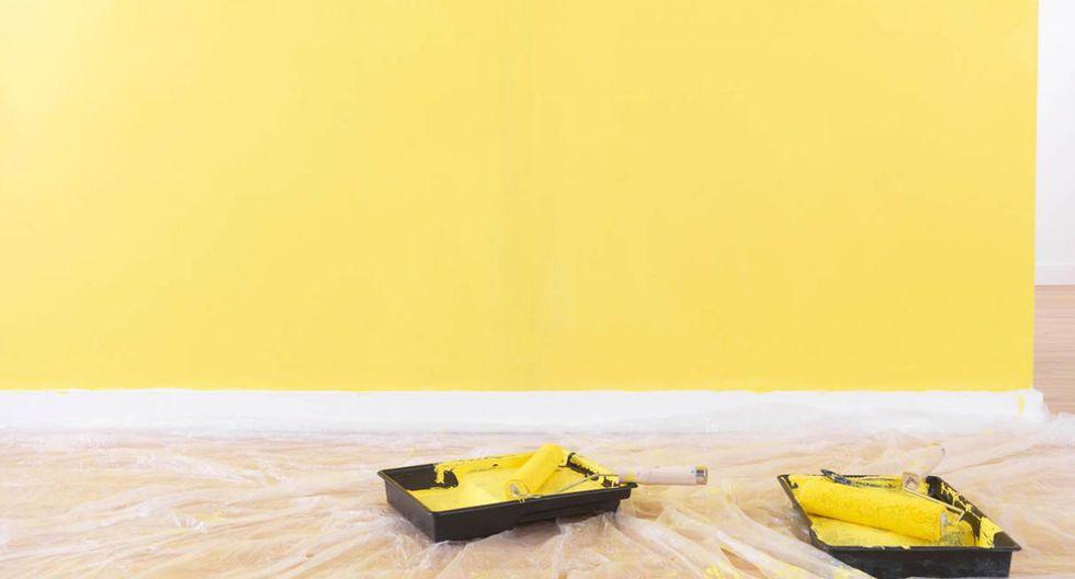 Larga duración. Para lograr una mayor adherencia de la pintura, aplica primero una mano de fijador o sellador. Deberás esperar de 24 a 48 horas para que seque bien. (Foto: Getty Images)