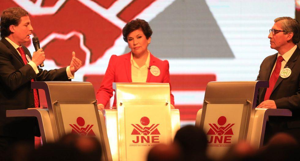 Los 13 candidatos a la Alcaldía de Lima en el debate del JNE - 12